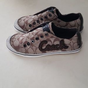 Coach Keeley brown sneakers 6